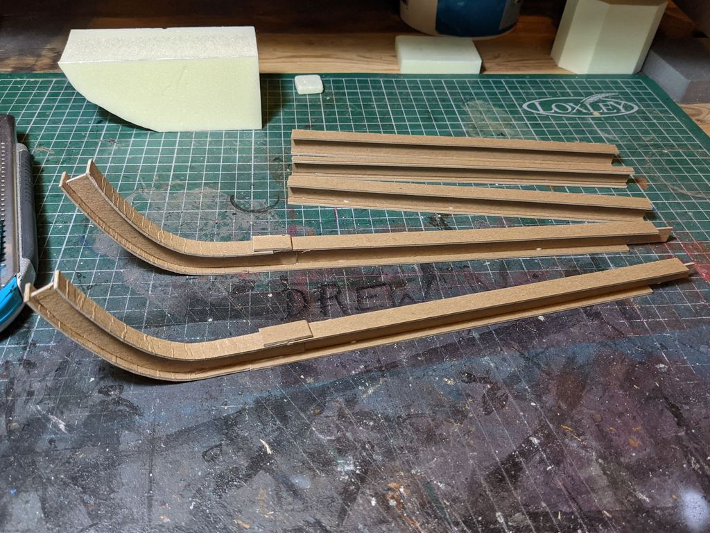I beams made from chipboard